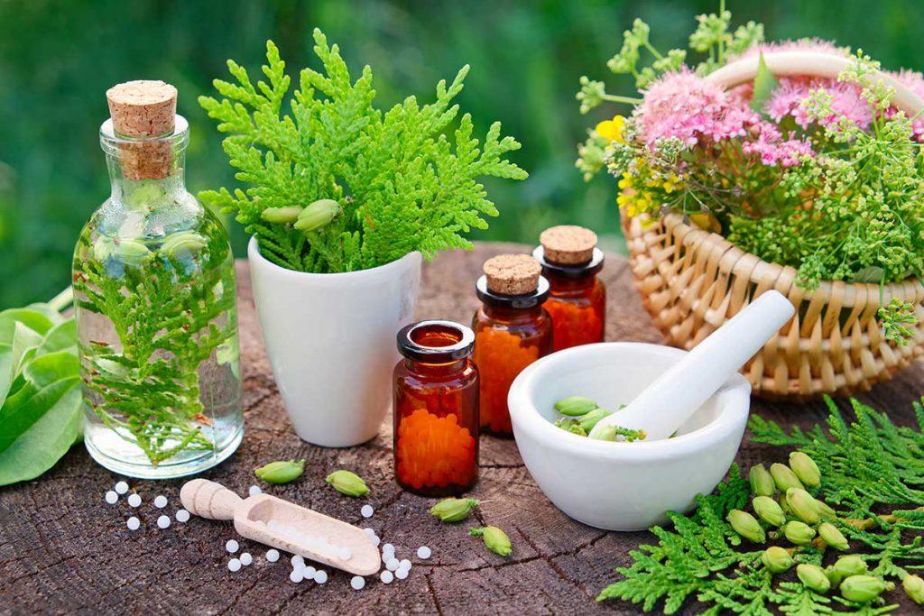 Rimedi omeopatici e fitoterapici sono la Naturopatia