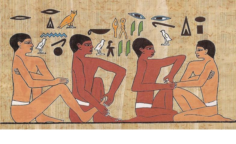 La Naturopatia praticata in Egitto con riflessologia