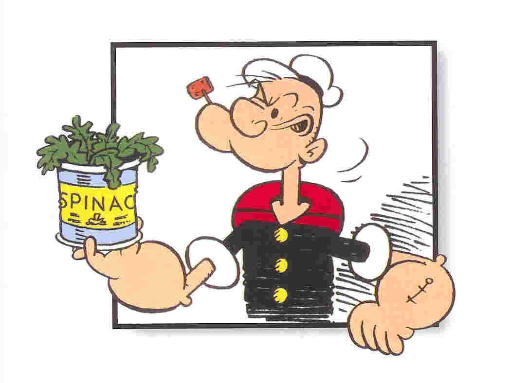 Braccio di ferro e gli spinaci
