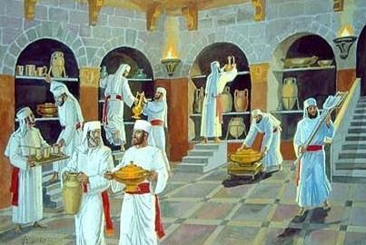 sacerdoti nell intestino come guardiani
